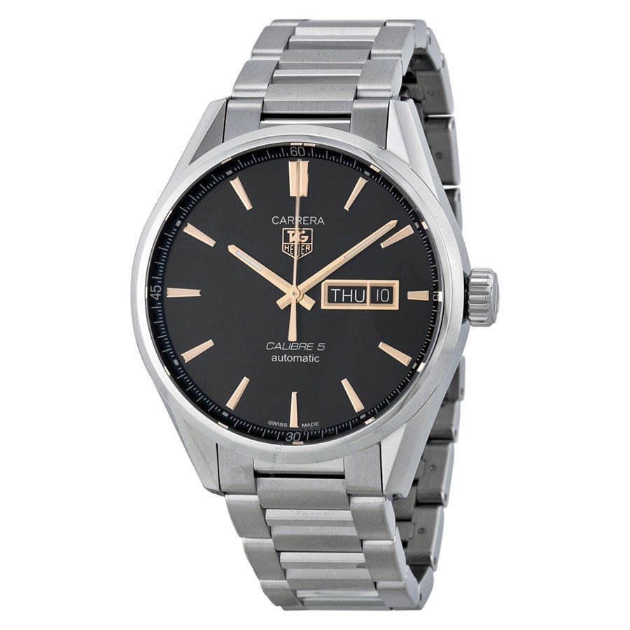 TAG HEUER Carrera Calibre 5 Black Dial