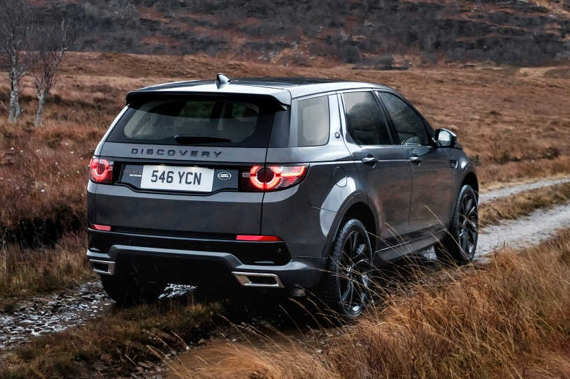 2018 Land Rover Discovery Sport, Exterior