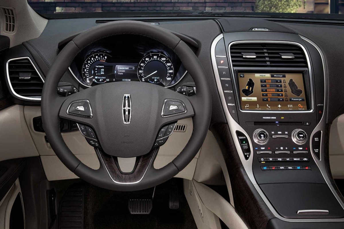 2018 Lincoln MKV SUV, Interior