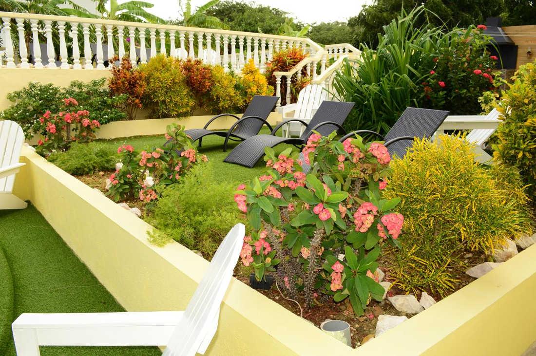 Adonai Hotel Boutique, Curacao, Garden View