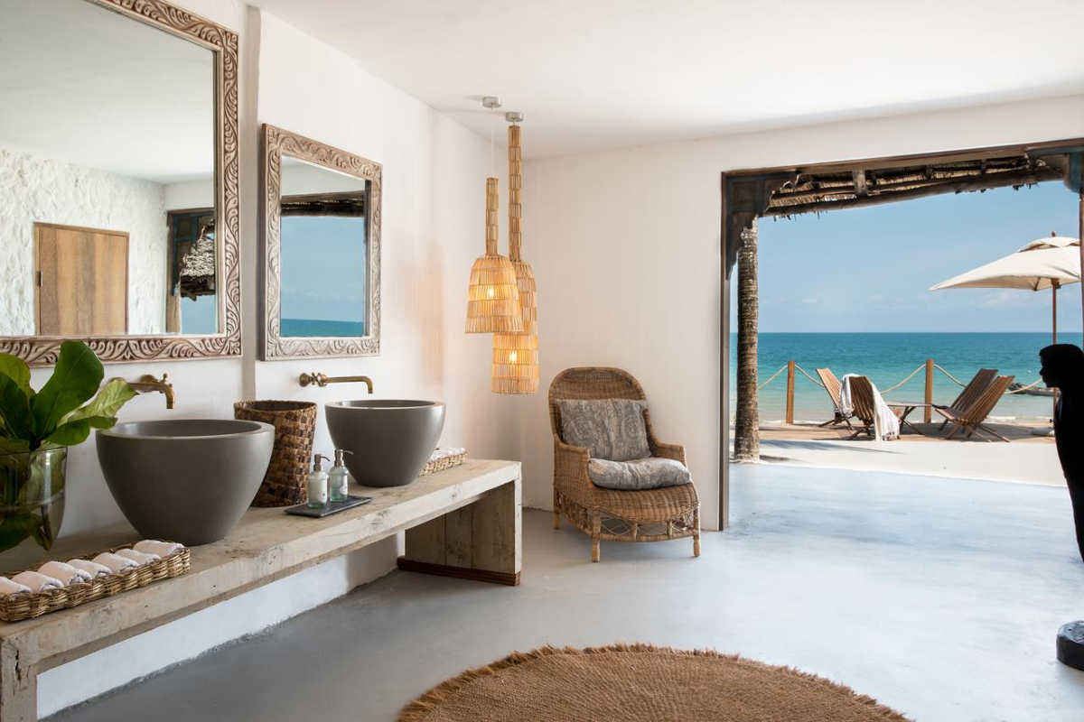 Chuini Zanzibar Beach Lodge, Room with incredible ocean views