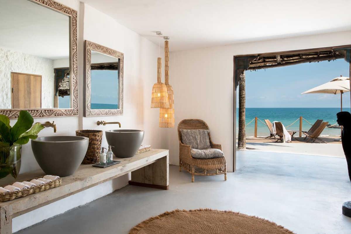 Chuini Zanzibar Beach Lodge, Room with incredible ocean views
