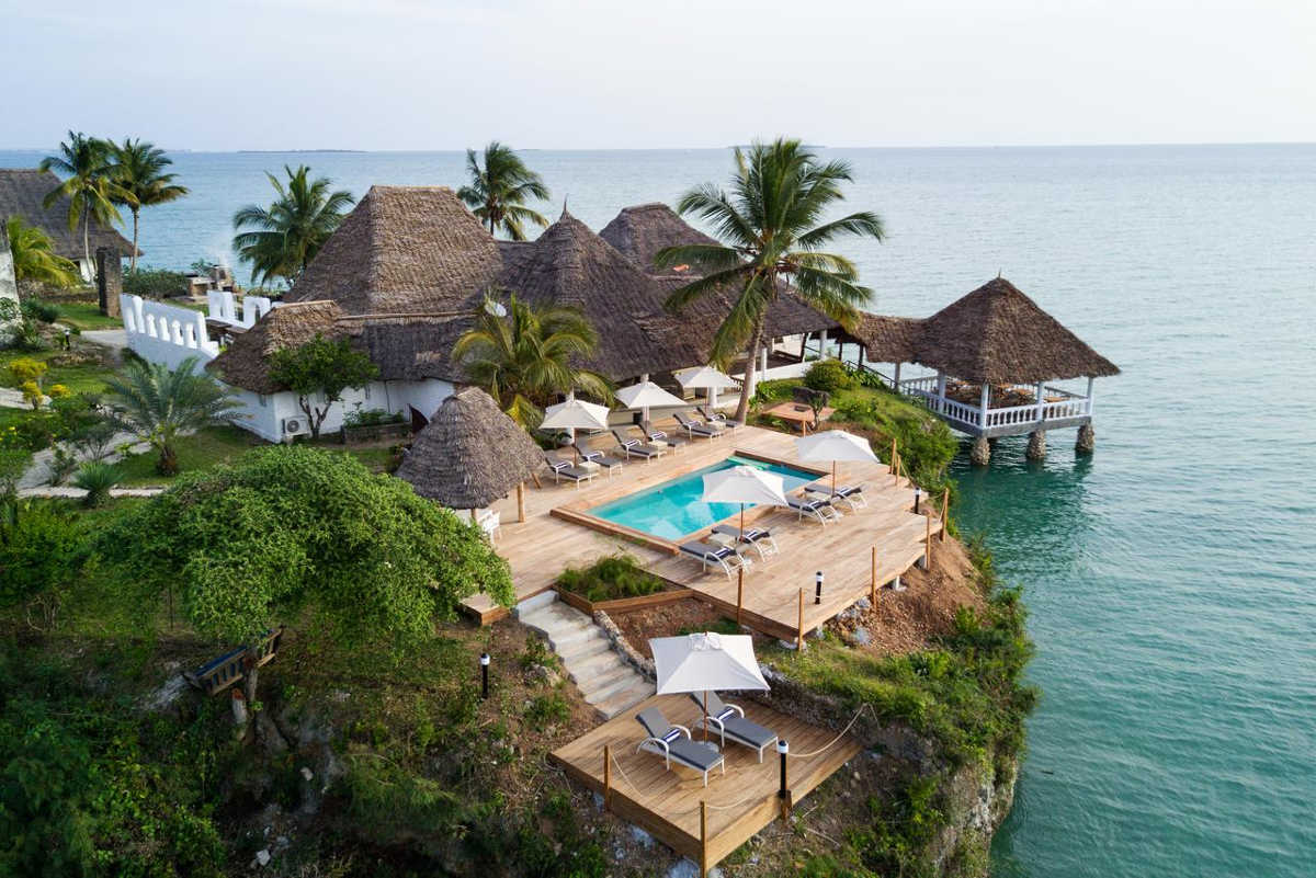 Chuini Zanzibar Beach Lodge, View from above