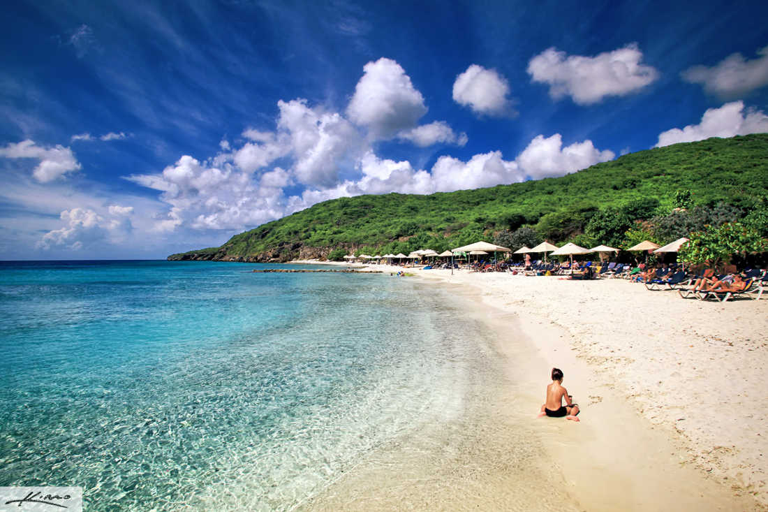 Beautiful Beach in Curacao