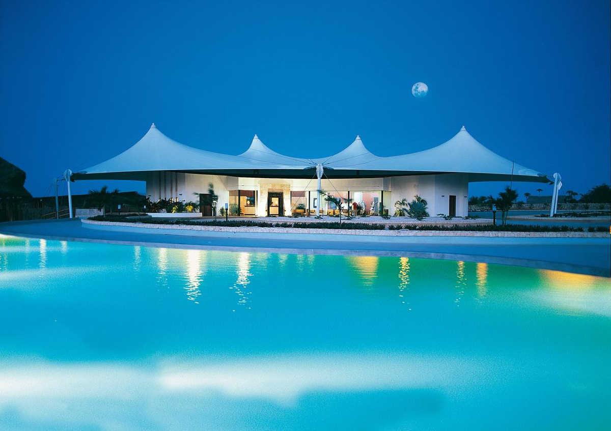 Five Star Resort Diamonds La Gemma dell'Est in Zanzibar, Pool View