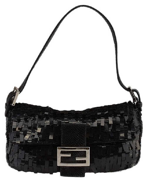 Fendi Sequin Shoulder Bag