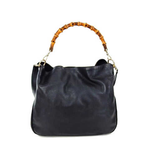 Gucci Bamboo Leather Bag