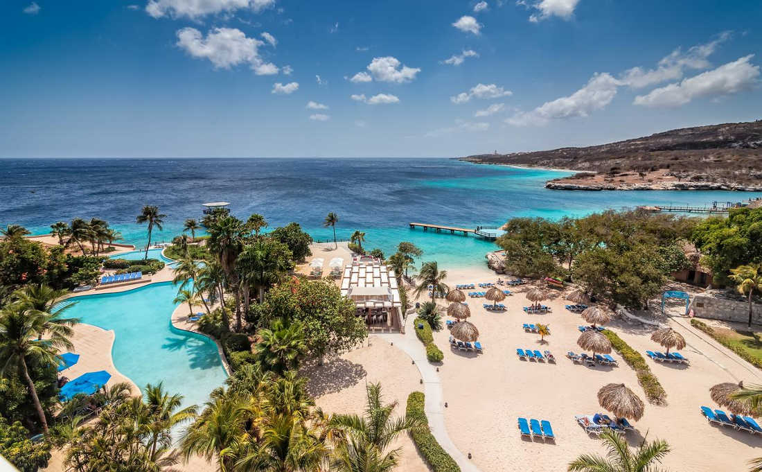 The Hilton Curacao Resorts, Beach View