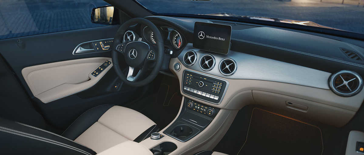Mercedes Benz GLA 2018, Interior