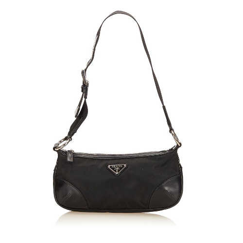 Prada Black Fabric Nylon