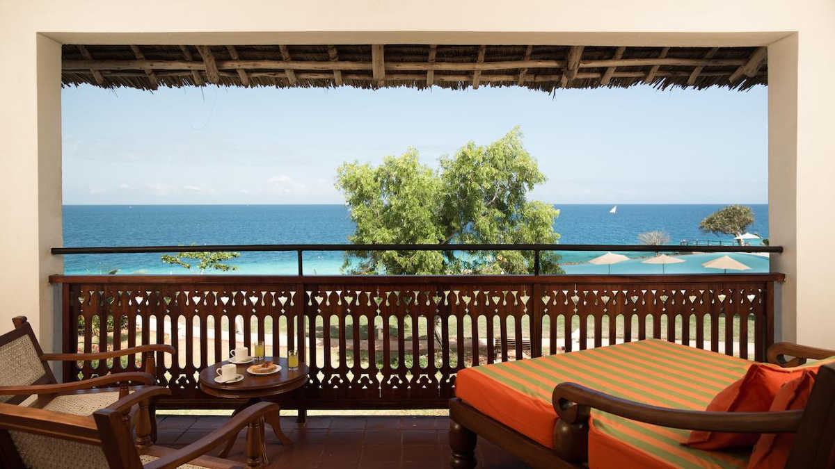 Five Star Resort - Royal Zanzibar, Beach View