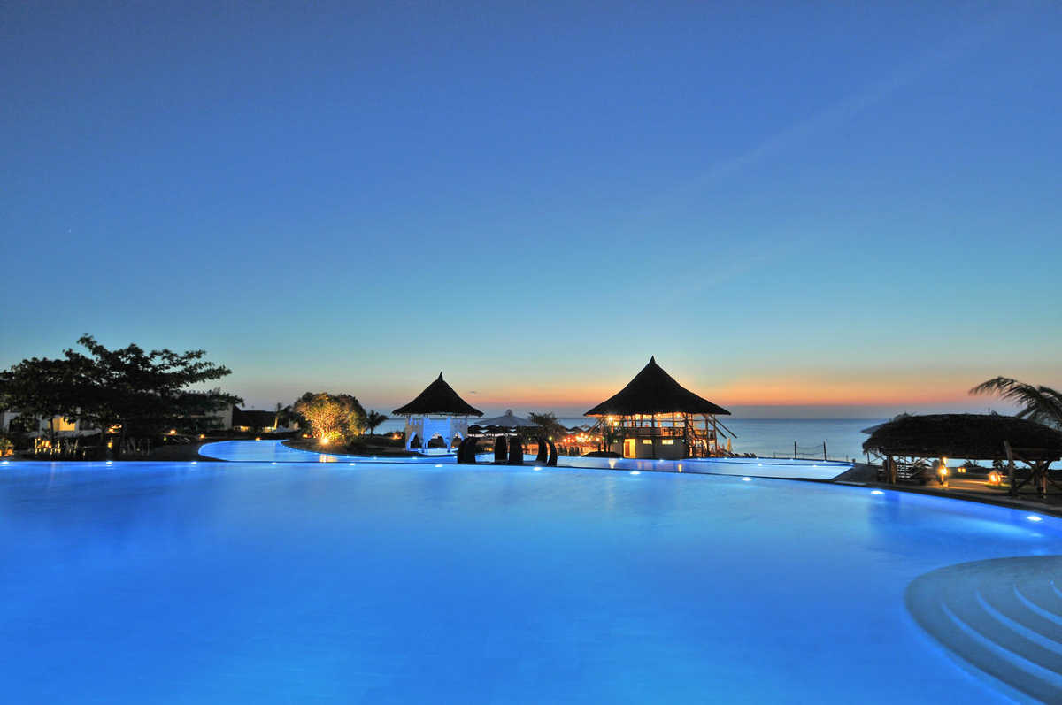 Five Star Resort - Royal Zanzibar, Pool and Ocean View