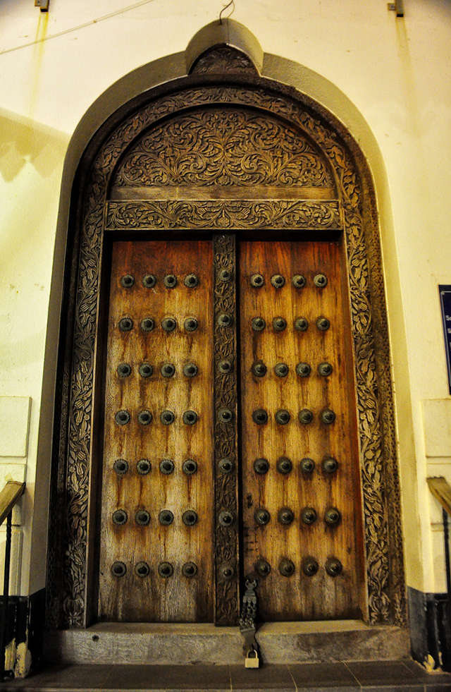 Beautiful Door in Stone Town, Zanzibar