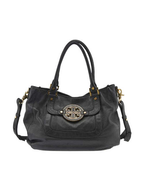 Tory Burch - Black Leather Shoulder Bag