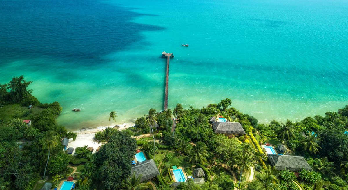 Zanzi Resort, Luxury Resort in Zanzibar, Incredible View from the Top