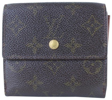 Louis Vuitton Brown Monogram Canvas Clutch