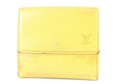 Louis Vuitton - Elise Wallet 4lj0111 Yellow Epi Leather Clutch