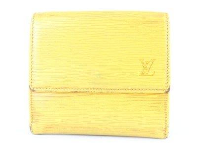 Louis Vuitton - Elise Wallet 4lj0111 Yellow Epi Leather Clutch