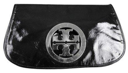 Tory Burch - Patent Black Leather Clutch