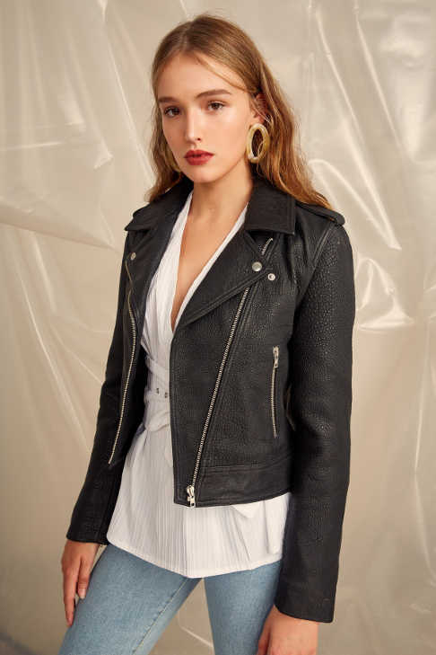 C/MEO Collective Leather Jacket