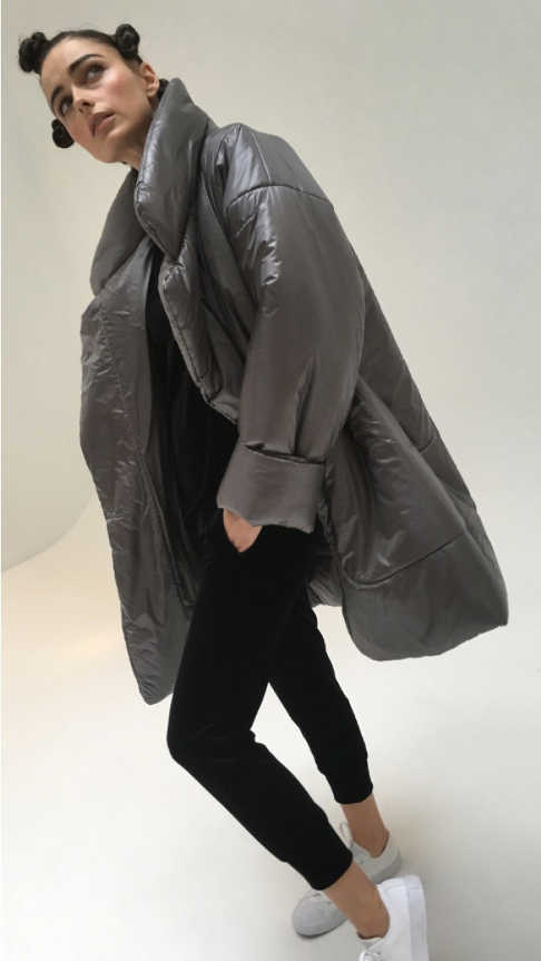 Norma Kamali Sleeping Bag Coat